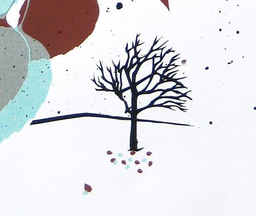 Winter 2008 art print, detail
