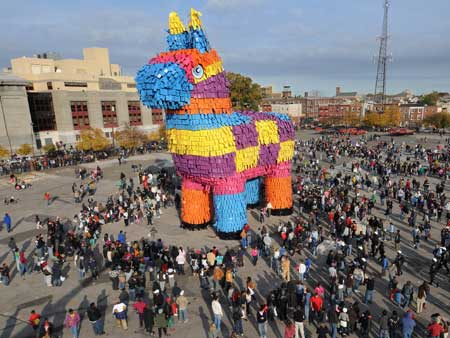 World's Largest Piñata